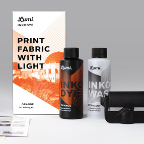 Print Fabric with Light - Oran