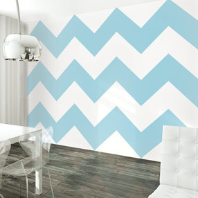 Chevron Aqua WallPaper