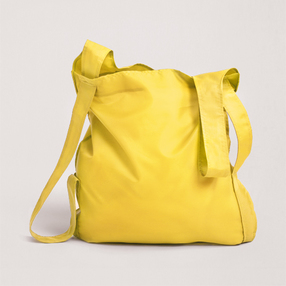 Yellow Poly Notabag
