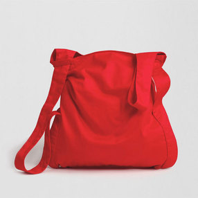 Red Cotton Notabag