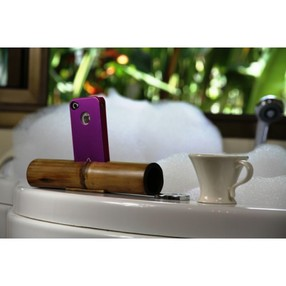 boozik bamboo iphone amplifier