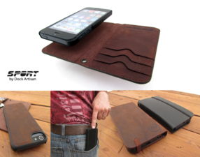Detachable Case Wallet Combo
