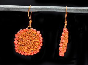 Grillage Earrings