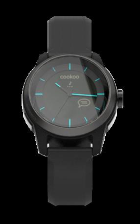 Black on Black COOKOO Watch