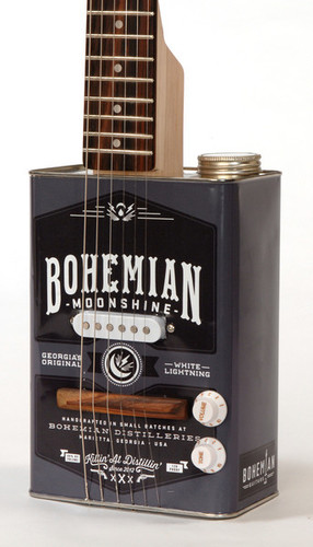Bohemian Moonshine Guitar