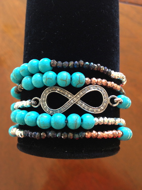 Infinity bracelet / necklace