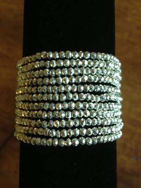 Pyrite Neck/Bracelet