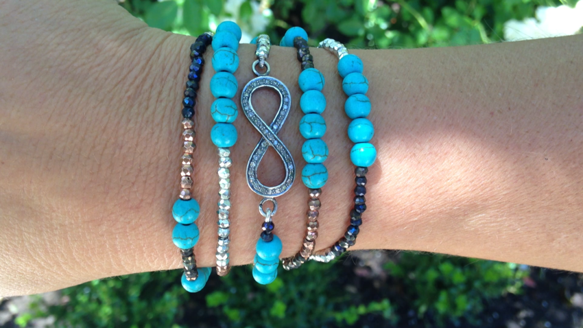 Infinity Mixed Bracelet & Necklace Video