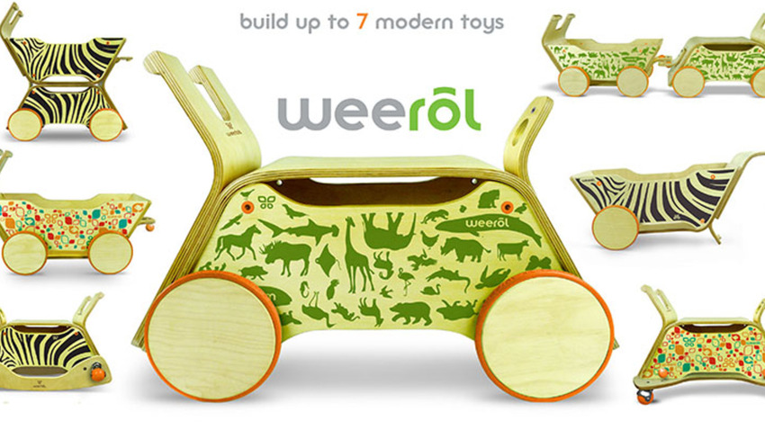 Weerol: The Modern Wood Toy that Grows with Your Child