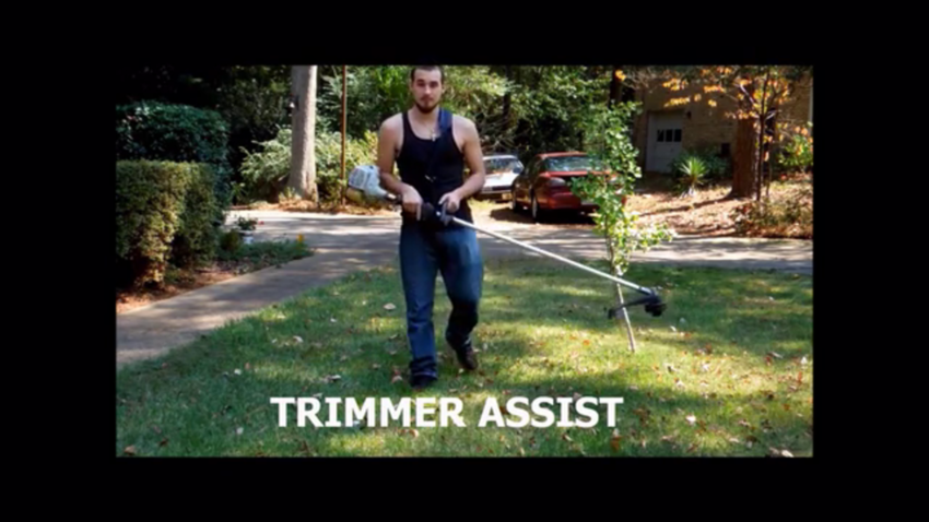 String Trimmer Strap And Blower Strap Suspension - Trimmer Assist